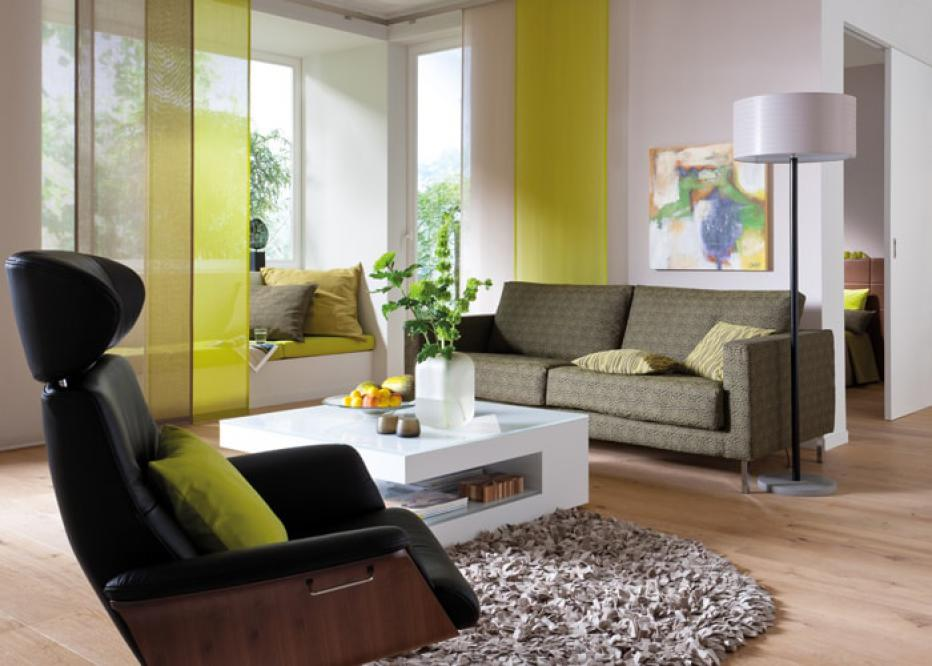 Tende da interno arricciate a pacchetto a pannelli moderne e classiche - Tessuti x tende da interno ...